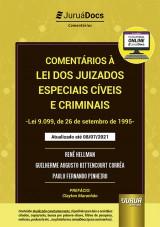 Capa do livro: Comentários à Lei dos Juizados Especiais Cíveis e Criminais - Lei 9.099, de 26 de setembro de 1995, Renê Hellman, Guilherme Augusto Bittencourt Corrêa e Paulo Fernando Pinheiro
