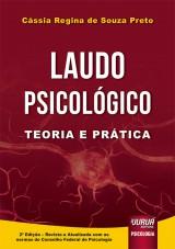 Capa do livro: Laudo Psicológico, Cássia Regina de Souza Preto