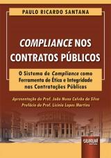 Capa do livro: Compliance nos Contratos Públicos, Paulo Ricardo Santana