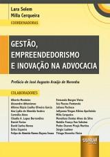 Capa do livro: Gestão, Empreendedorismo e Inovação na Advocacia, Coordenadoras: Lara Selem e Milla Cerqueira