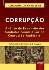 Capa do livro: Corrupção, Carolina da Silva Leme