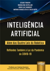 Capa do livro: Inteligência Artificial, Cesare Triberti, Maddalena Castellani, Mário Luiz Ramidoff e Antonio Evangelista de Souza Netto