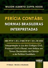 Capa do livro: Perícia Contábil - Normas Brasileiras Interpretadas, Wilson Alberto Zappa Hoog