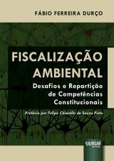 Capa do livro: Fiscalização Ambiental, Fábio Ferreira Durço
