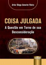 Capa do livro: Coisa Julgada, Artur Diego Amorim Vieira