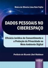 Capa do livro: Dados Pessoais no Ciberespaço, Maíra de Oliveira Lima Ruiz Fujita